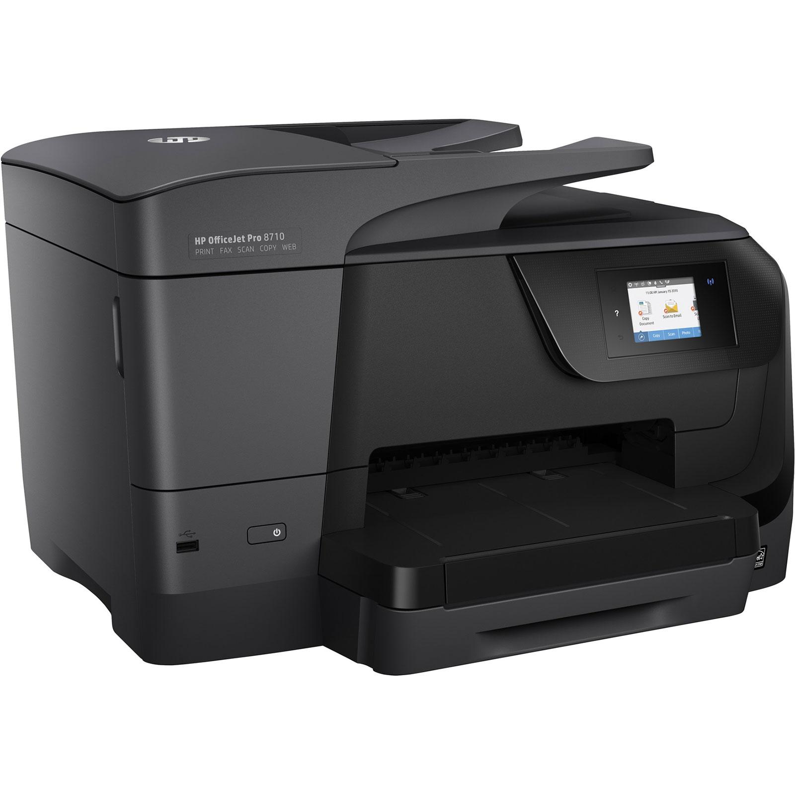 hp officejet pro 8710 imprimante multifonction hp sur. Black Bedroom Furniture Sets. Home Design Ideas