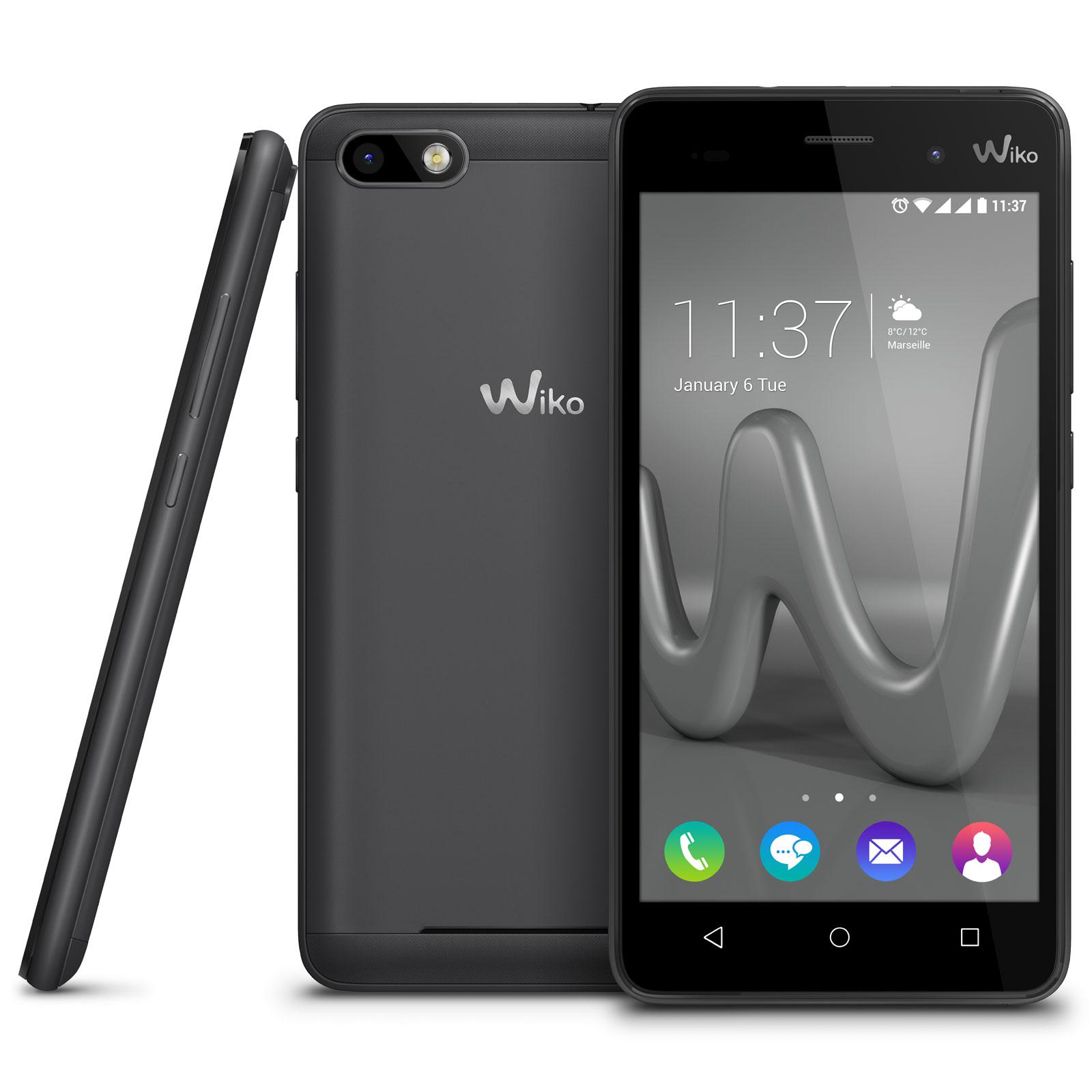 wiko lenny 3 gris mobile smartphone wiko sur. Black Bedroom Furniture Sets. Home Design Ideas