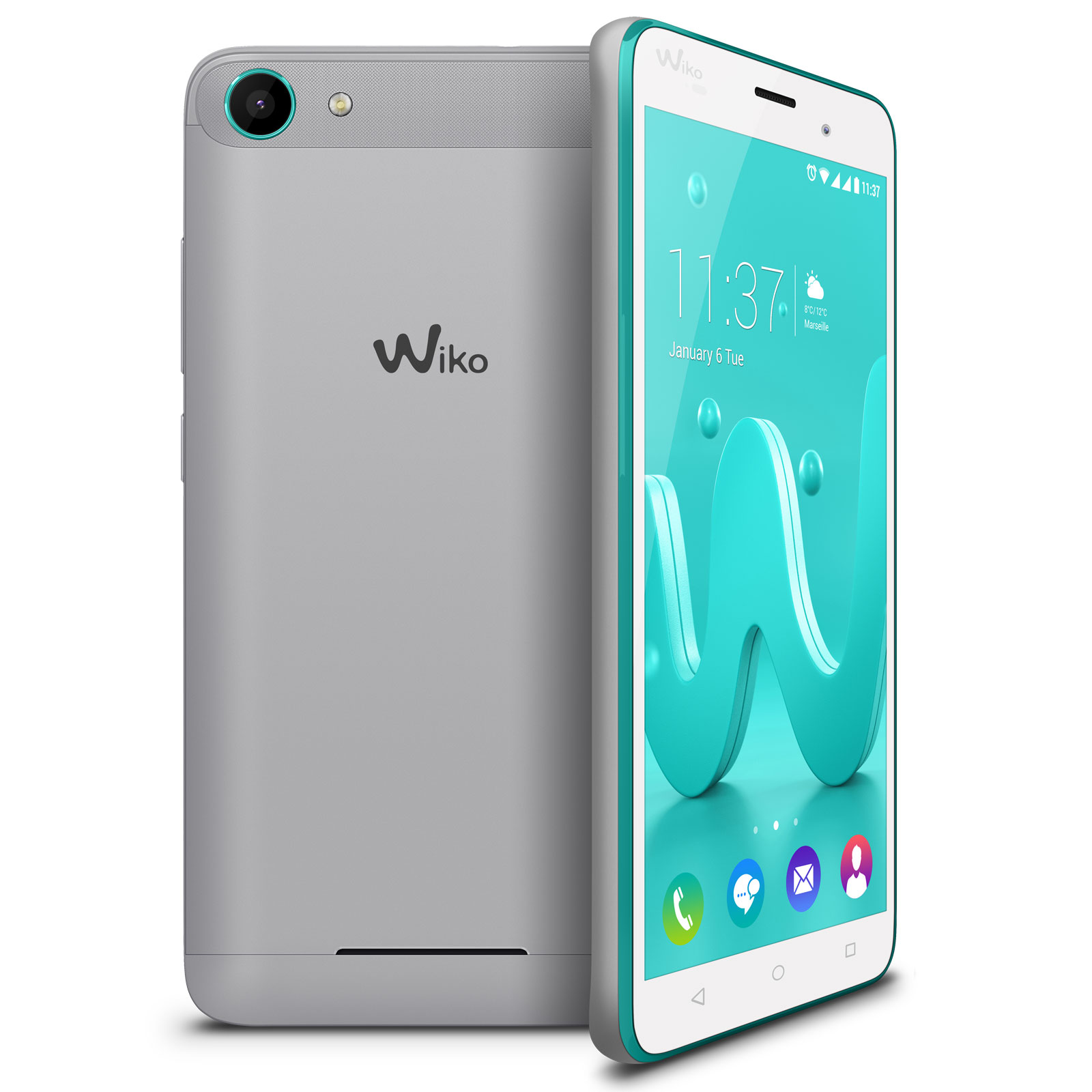 Wiko Jerry Argent Bleen Mobile Amp Smartphone Wiko Sur
