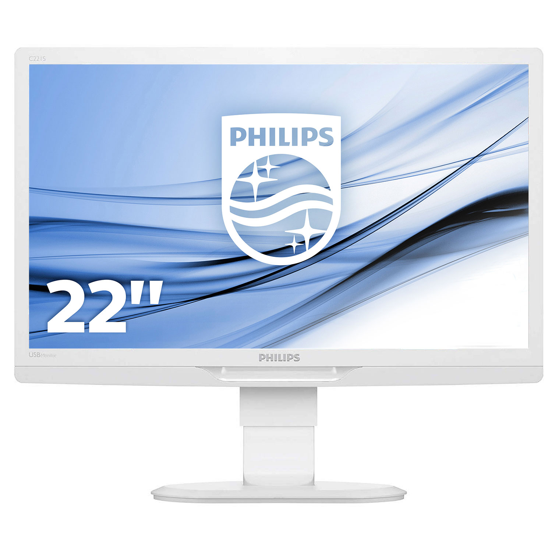 Philips 22 led c221s3ucw ecran pc philips sur for Ecran pc tn