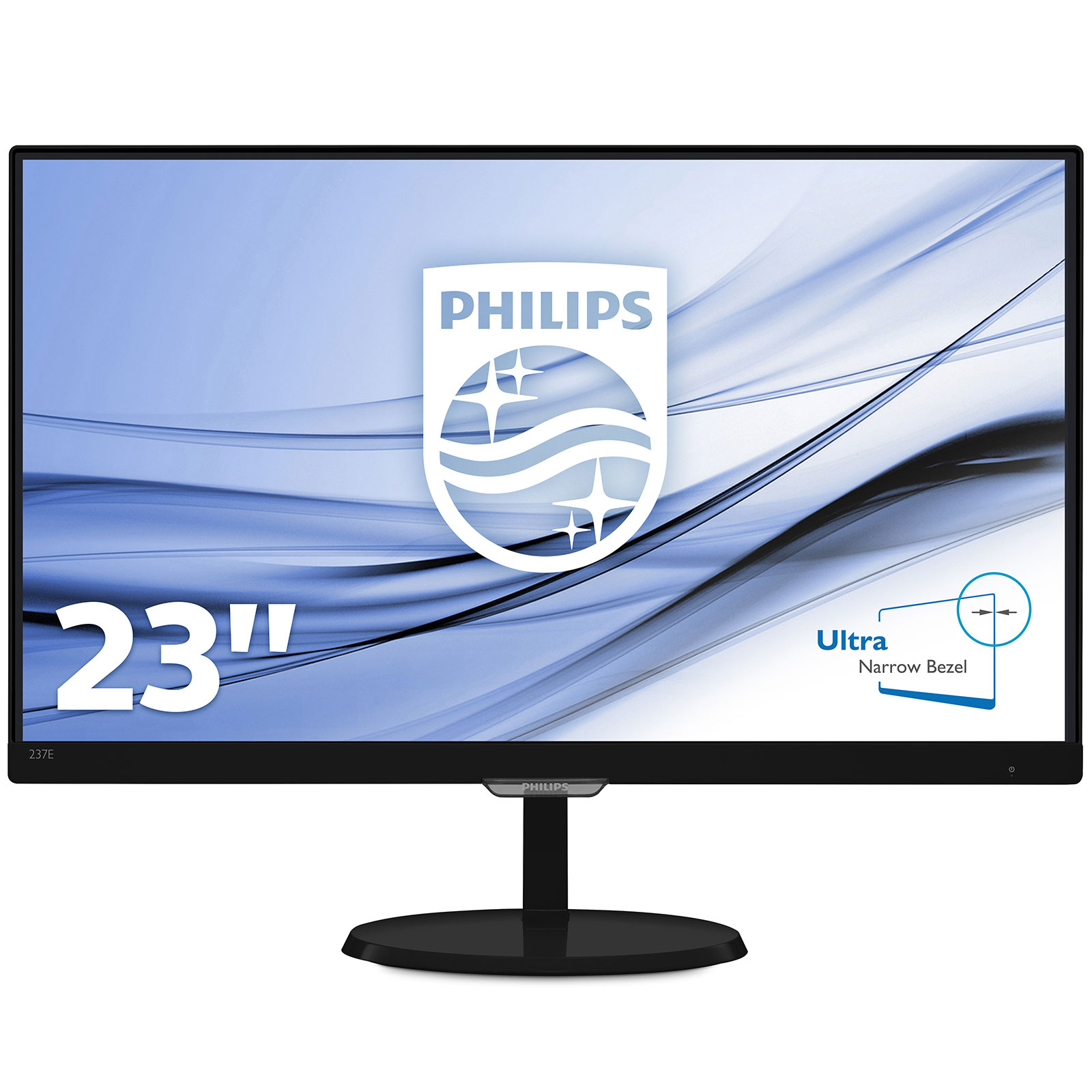 Philips 23 led 237e7qdsb ecran pc philips sur for Moniteur pc dalle ips