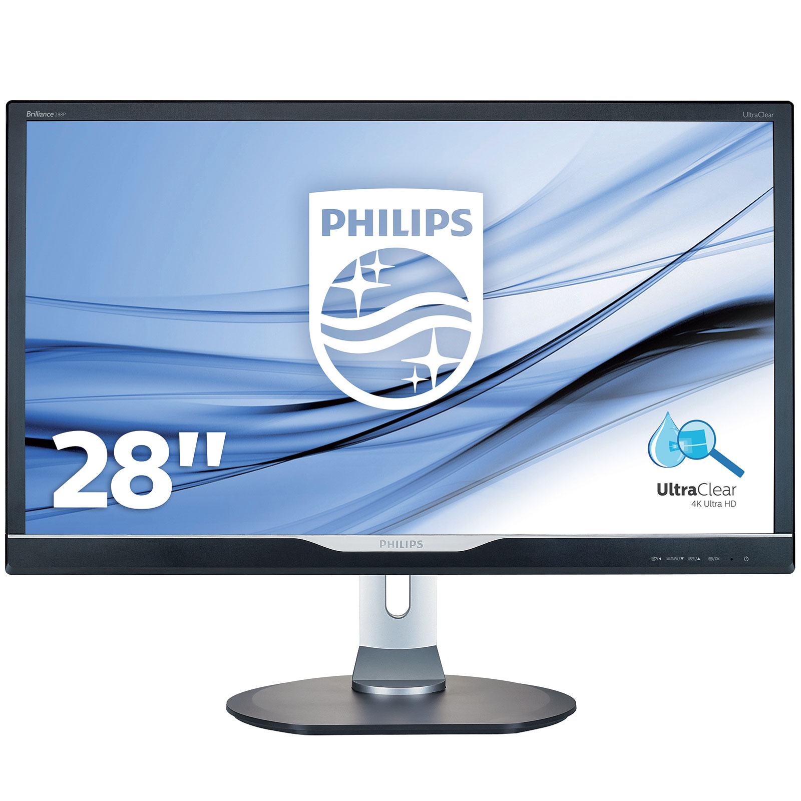 Philips 28 led 288p6ljeb ecran pc philips sur for Ecran photo 27 pouces