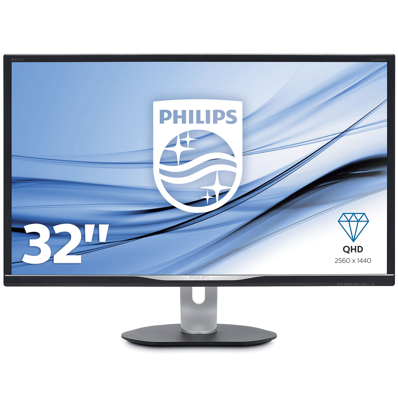 philips 32 led bdm3270qp2 ecran pc philips sur. Black Bedroom Furniture Sets. Home Design Ideas