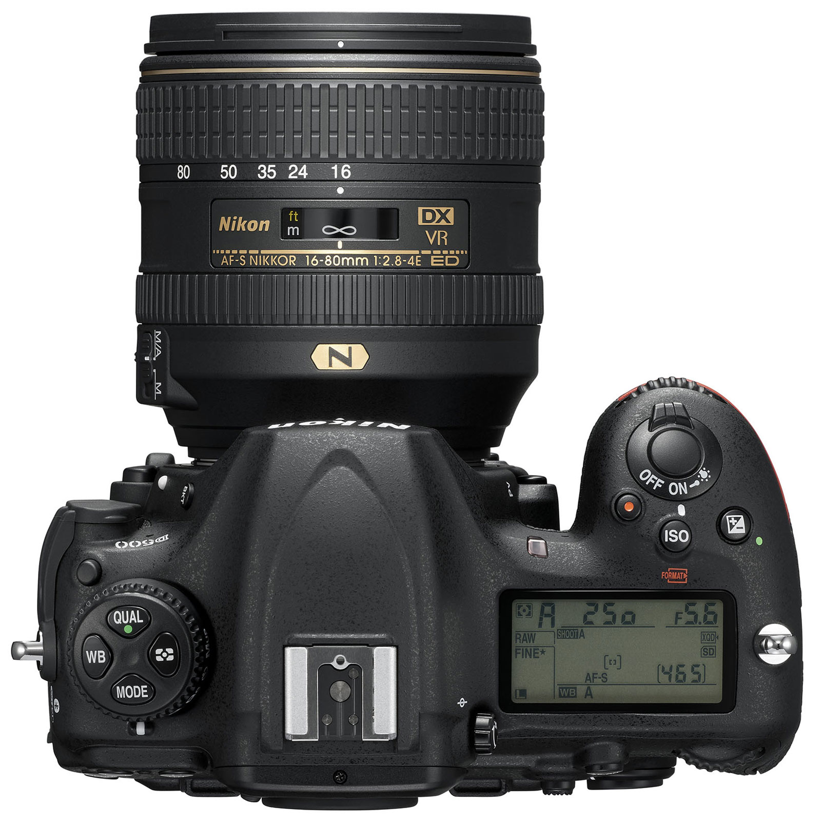Nikon D500 + AF-S DX NIKKOR 16-80 mm - Appareil photo ...