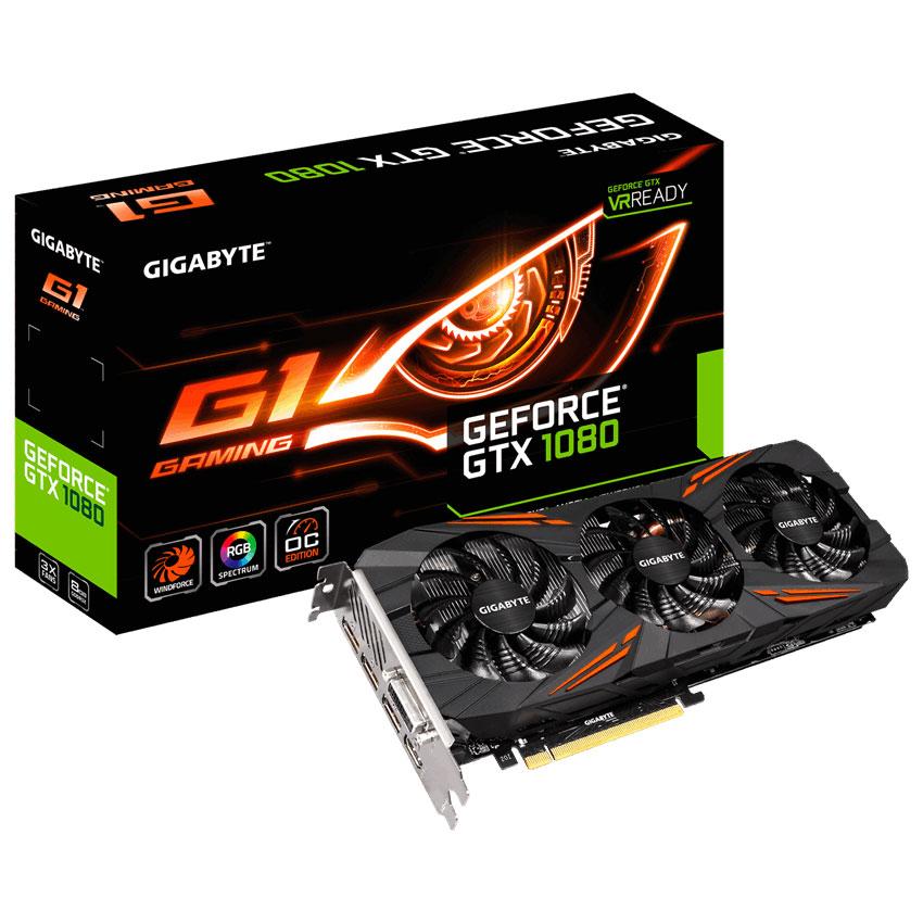Gigabyte Geforce Gtx 1080 G1 Gaming Gv N1080g1 Gaming 8gd Carte