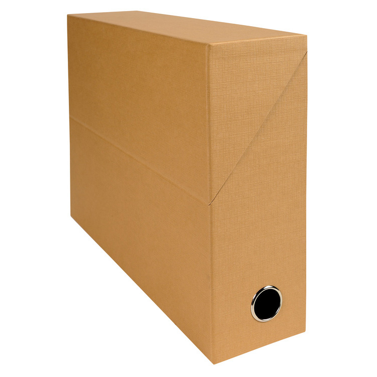 exacompta boite de transfert en papier toil dos 90 mm havane bo te archives exacompta sur. Black Bedroom Furniture Sets. Home Design Ideas
