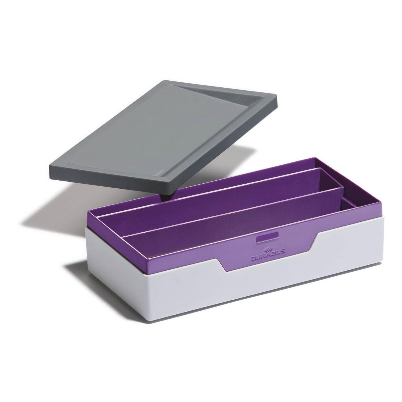 durable boite de rangement varicolor violet bo te de rangement durable sur. Black Bedroom Furniture Sets. Home Design Ideas