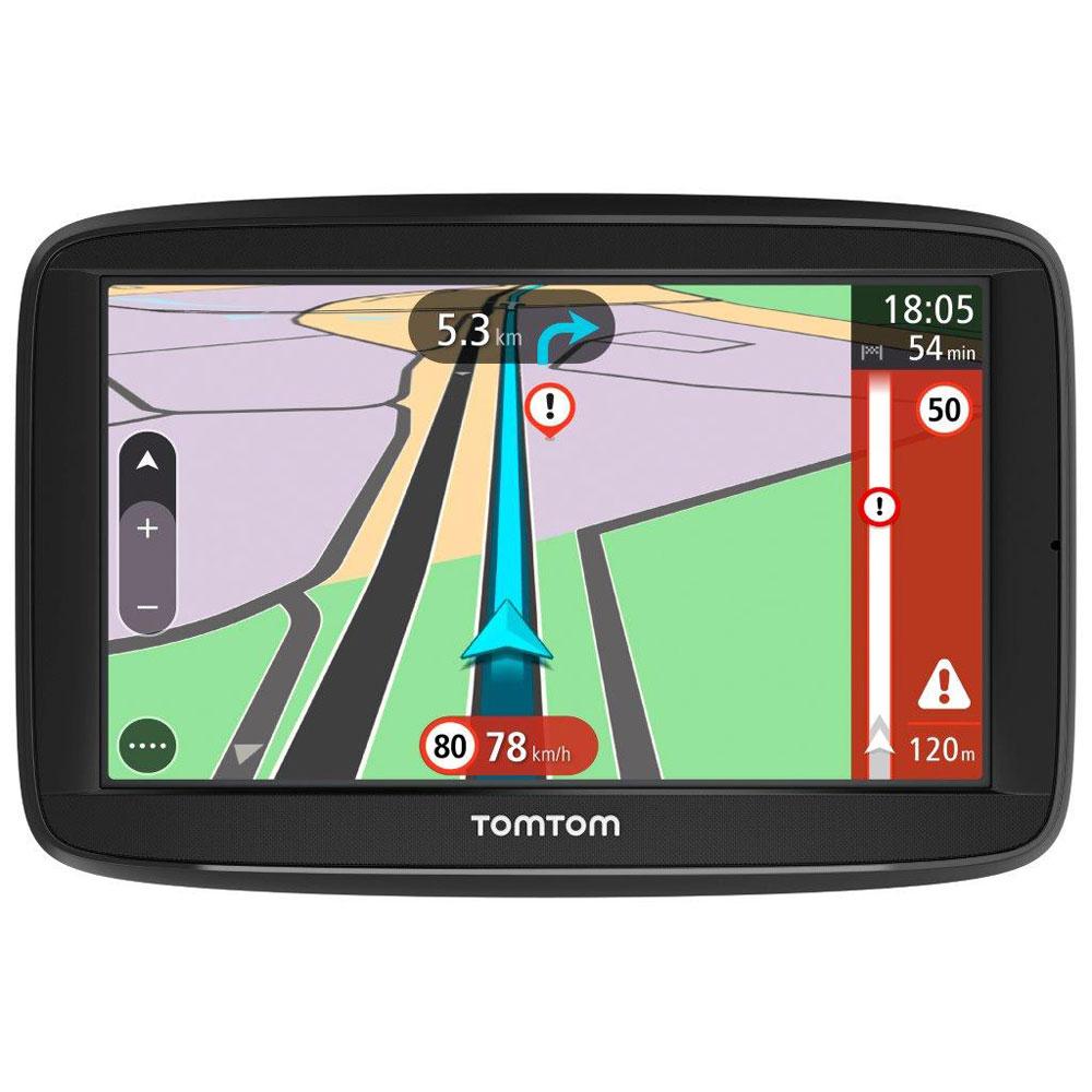 """GPS TomTom VIA 62 GPS 48 pays d'Europe Ecran 6"""" et cartographie à vie"""