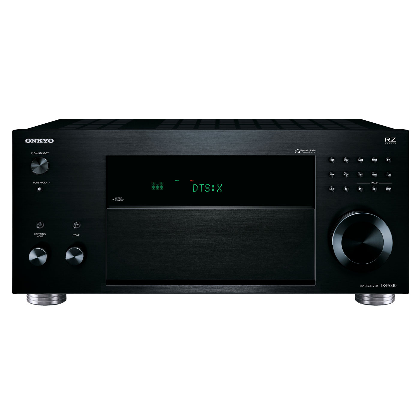 onkyo tx rz810 noir ampli home cin ma onkyo sur. Black Bedroom Furniture Sets. Home Design Ideas