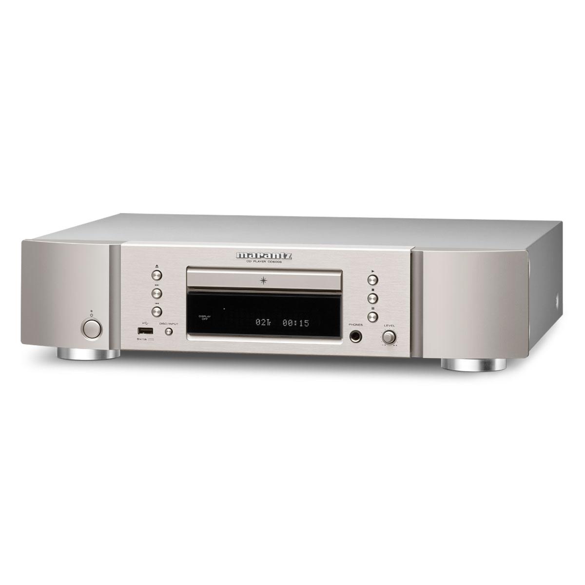 marantz cd6006 silver gold platine cd marantz sur. Black Bedroom Furniture Sets. Home Design Ideas