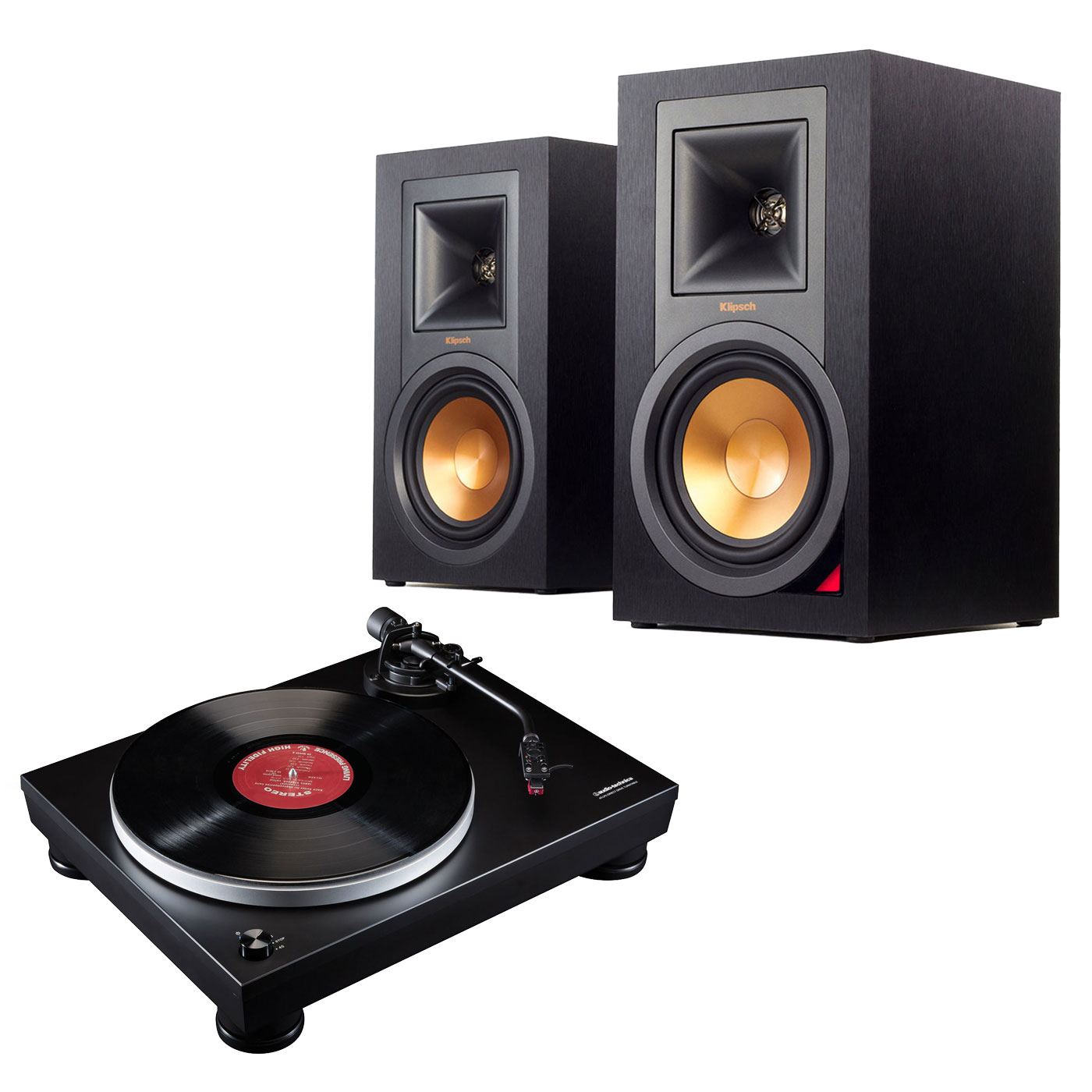 audio technica at lp5 noir klipsch r 15pm platine vinyle audio technica sur. Black Bedroom Furniture Sets. Home Design Ideas