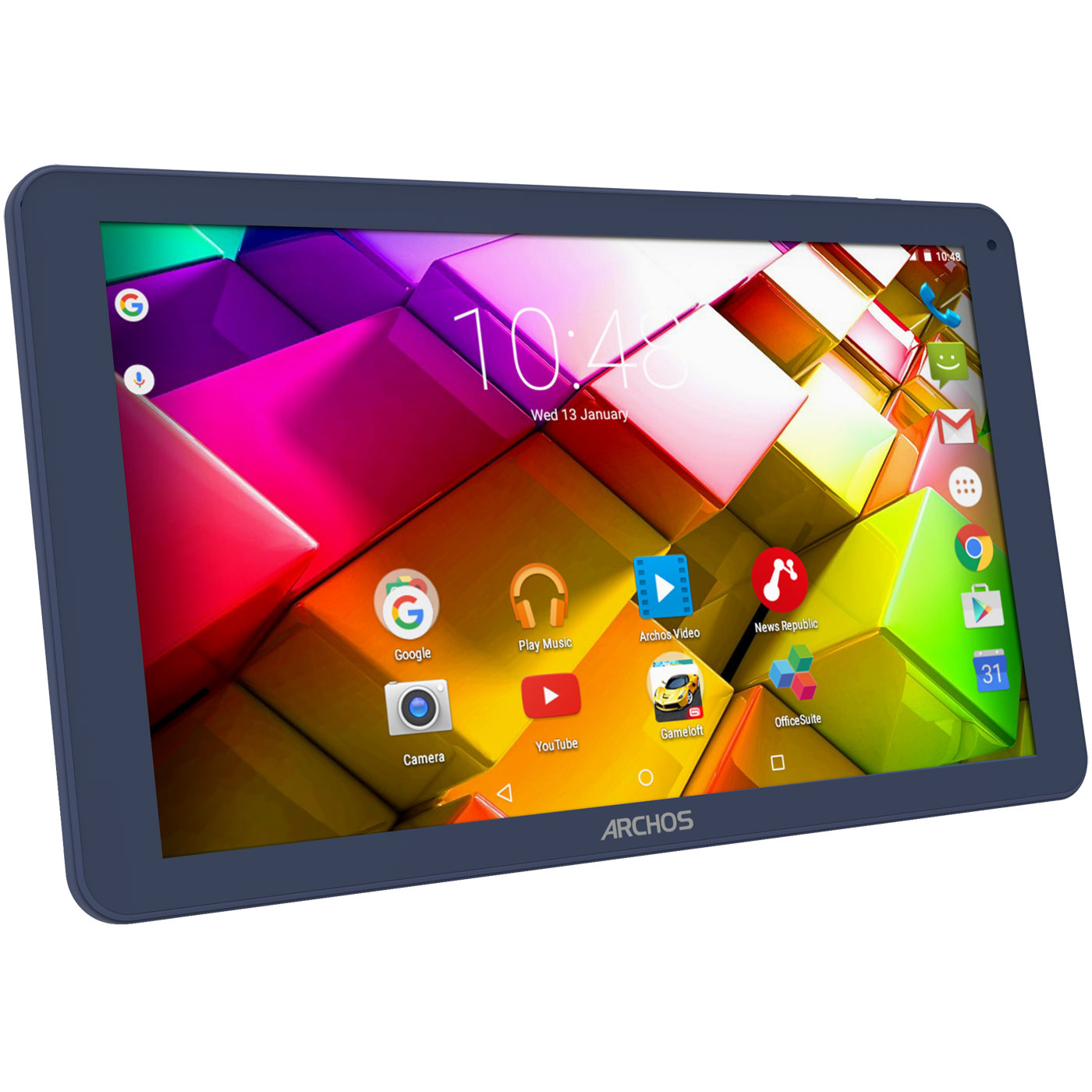 "Tablette tactile Archos 101c Copper 16 Go Tablette Internet 3G+ - ARM Cortex A53 1.3 GHz 1 Go 16 Go 10.1"" LED tactile Wi-Fi/Bluetooth/Webcam Android 5.1"
