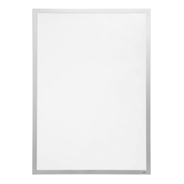 Durable cadre duraframe poster 70 x 100 cm gris vitrine for Cadre 70x100 castorama
