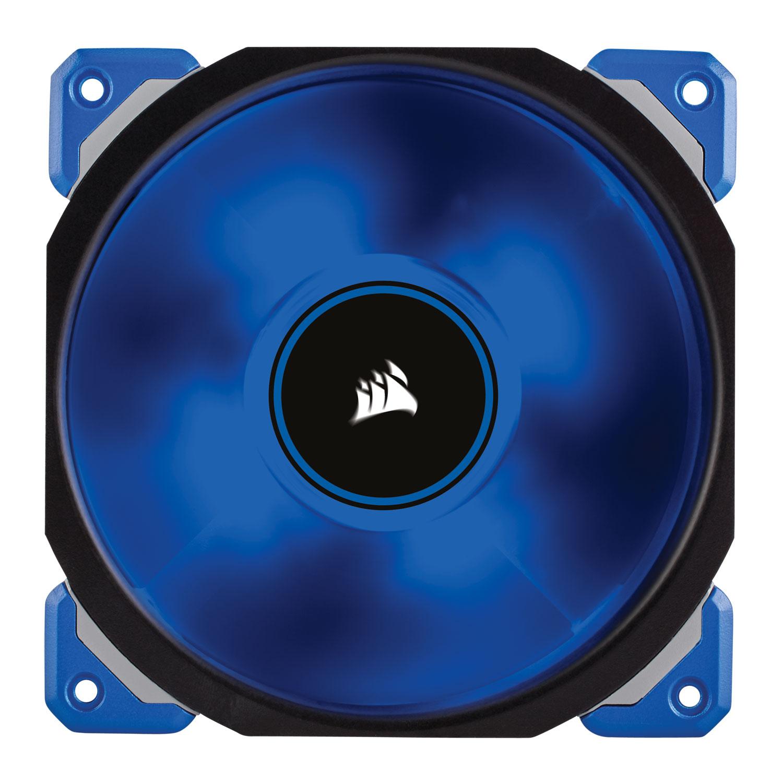 Ventilateur boîtier Corsair Air Series ML 120 Pro LED Bleu Ventilateur de boîtier hautes performances à lévitation magnétique 120 mm avec LEDs bleues