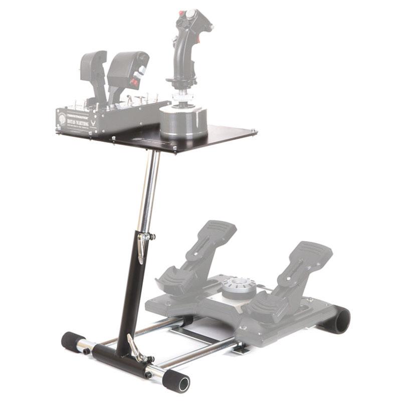 wheel stand pro v2 for thrustmaster hotas warthog saitek. Black Bedroom Furniture Sets. Home Design Ideas