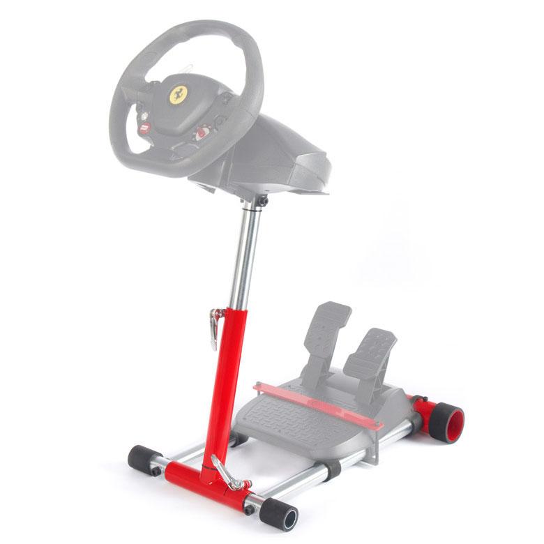 Autres accessoires jeu Wheel Stand Pro v2 for Thrustmaster T80/T100/F430/F458/F458-Spider Support pliable, réglable et transportable en métal pour volant Thrustmaster T80 / T100 / F430 / F458 / F458 Spider