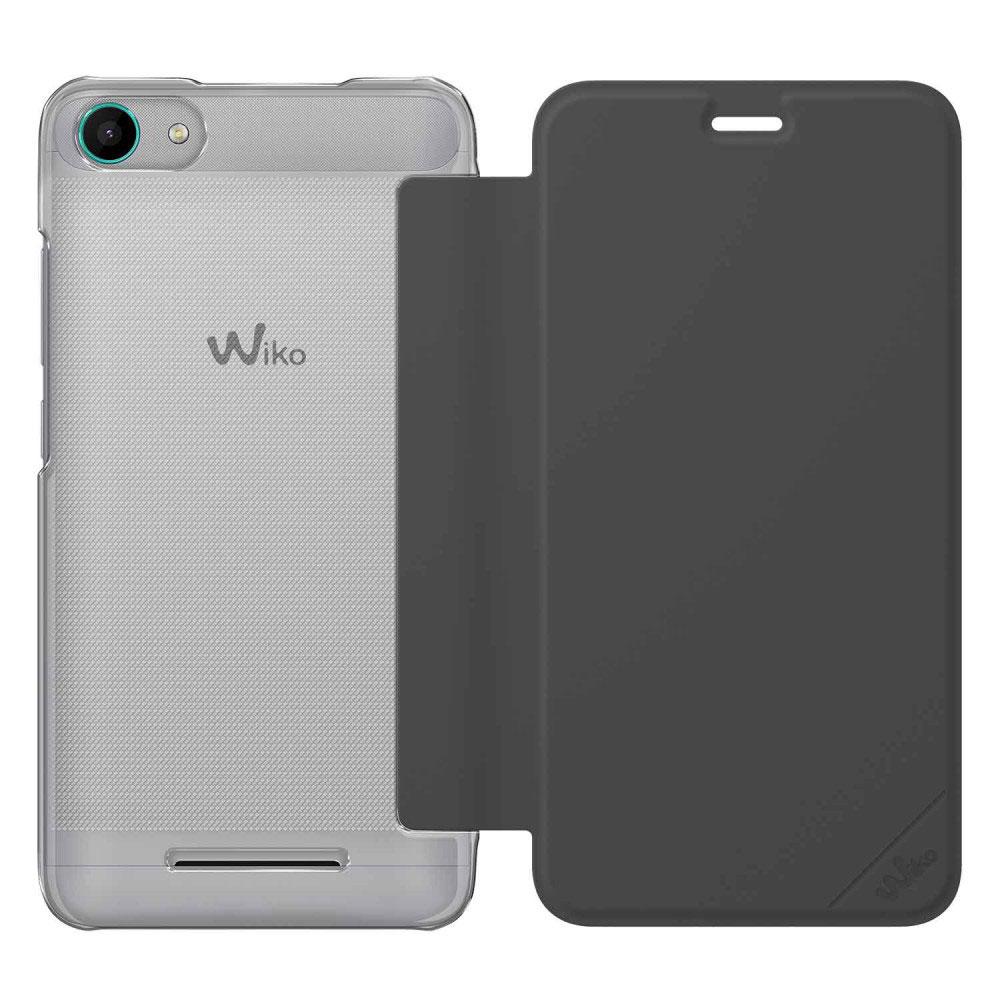wiko folio game changer gris wiko jerry etui t l phone wiko sur. Black Bedroom Furniture Sets. Home Design Ideas
