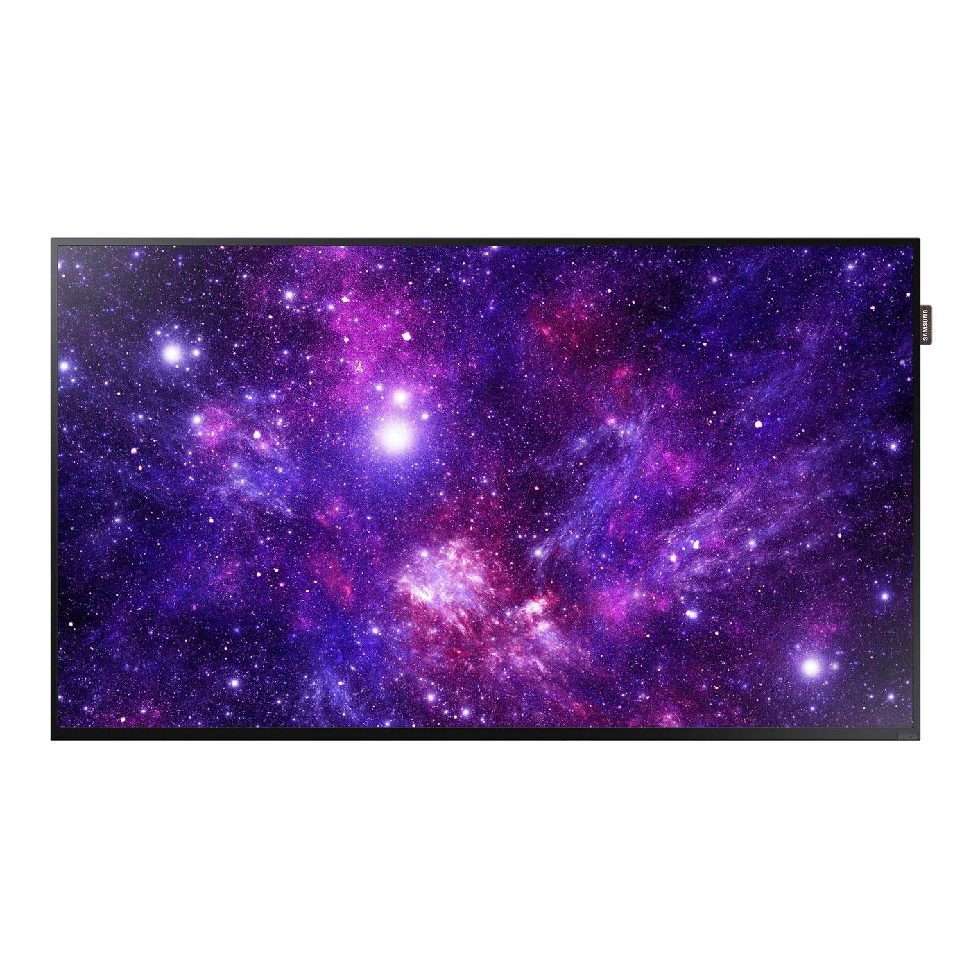 """Ecran dynamique Samsung 40"""" LED DC40E 1920 x 1080 pixels 16:9 - 5000:1 - 8 ms - HDMI - Haut-parleurs intégrés - Noir"""