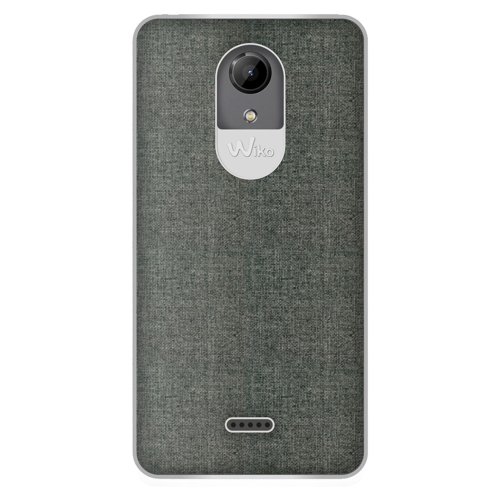 Wiko coque tissu wiboard gris wiko ufeel lite etui t l phone wiko sur - Fabriquer une coque de telephone ...