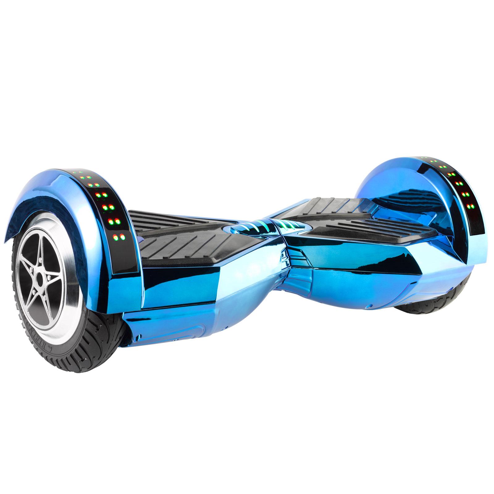 Mpman g2 metallic blue t l commande antivol gyropode for Housse pour hoverboard