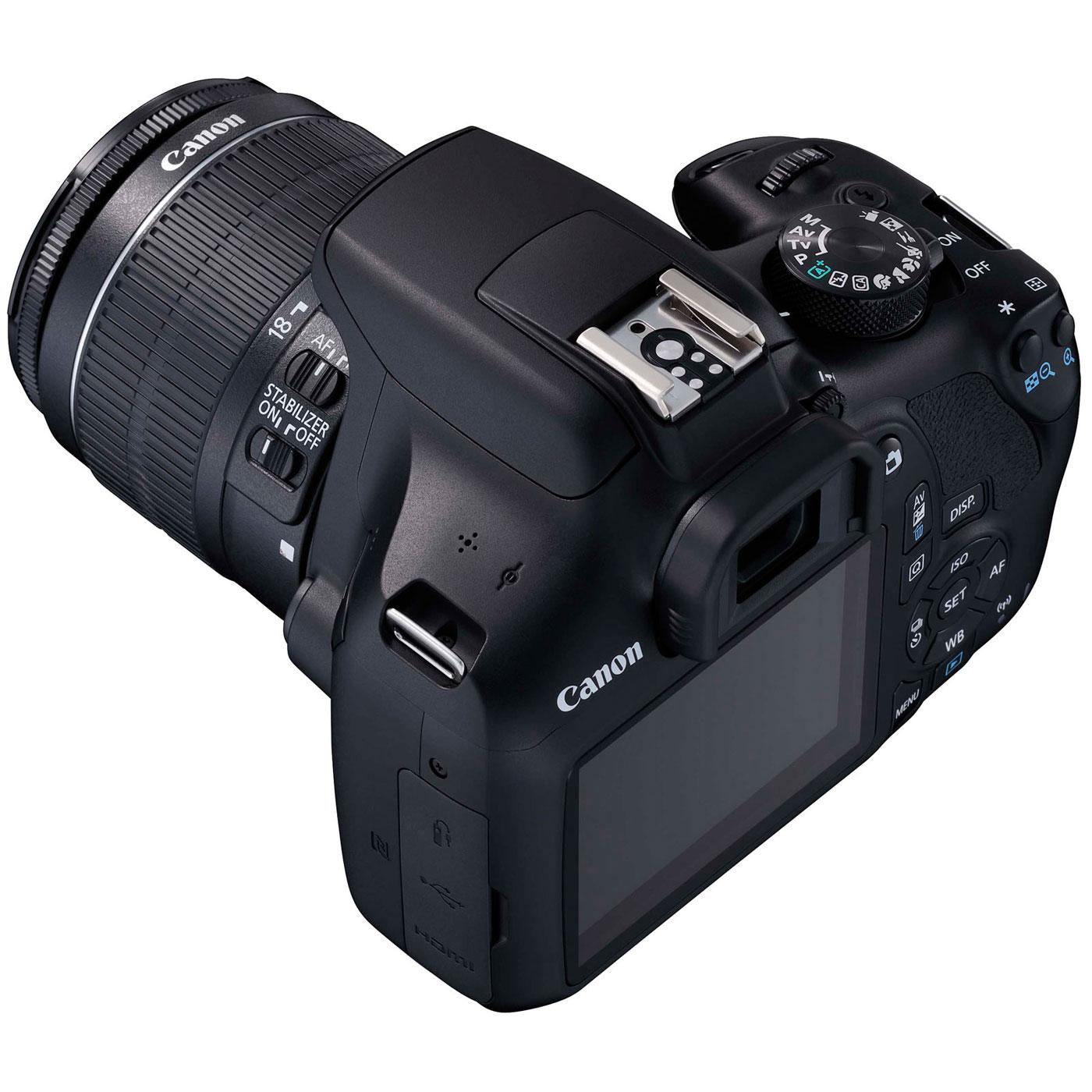 9877a4b6a3281c Canon EOS 1300D + EF-S 18-55 mm DC III - Appareil photo Reflex Canon ...
