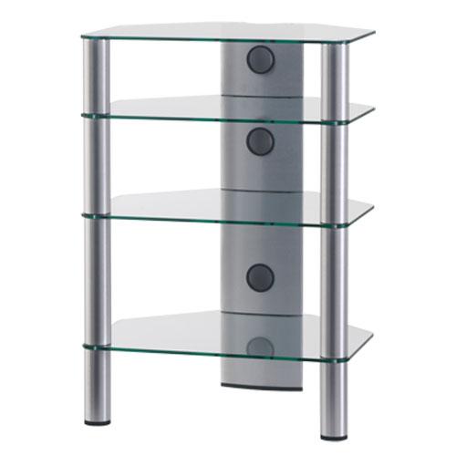 Sonorous rx2140 transparent meuble tv sonorous sur - Meuble chaine hifi en verre ...