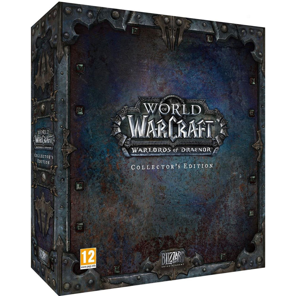 World of warcraft warlords of draenor collector edition pc jeux pc blizzard entertainment - World of warcraft sur console ...