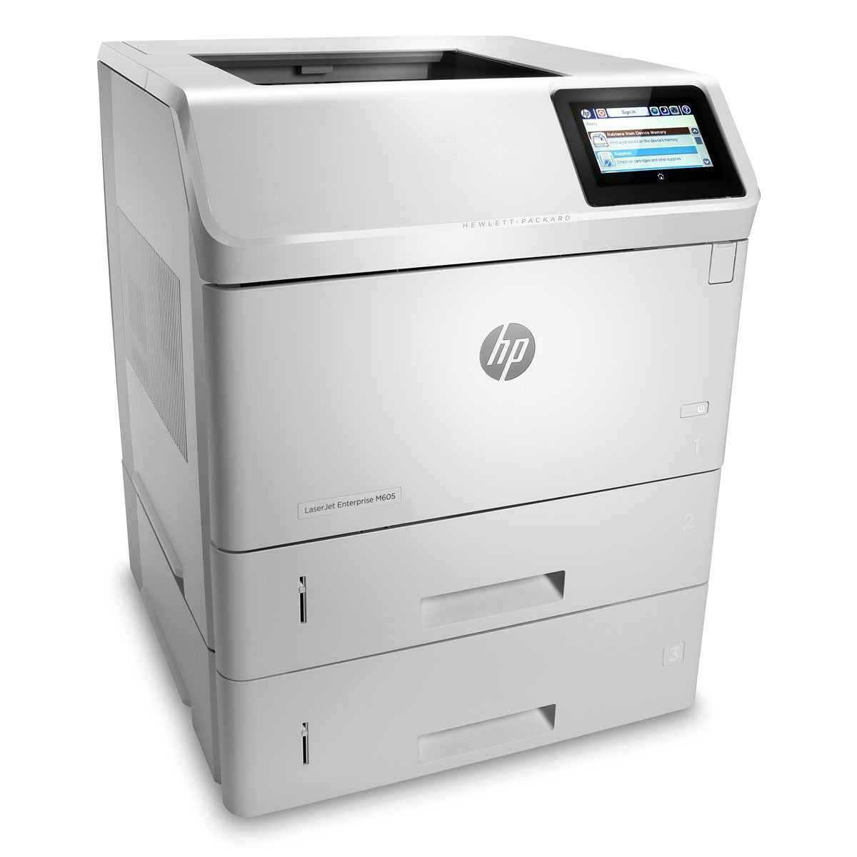 hp laserjet enterprise m605x imprimante laser hp sur. Black Bedroom Furniture Sets. Home Design Ideas