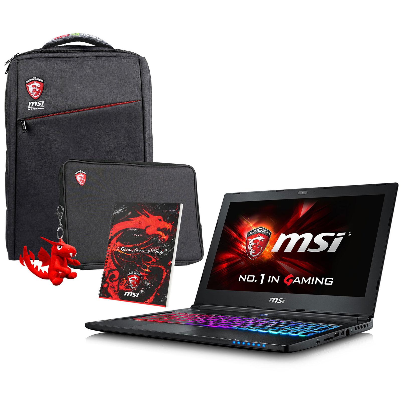 PC portable MSI GS60 6QD-288FR Ghost Pro + Pack Spécial Printemps OFFERT !  Intel fa2ad7e9dcd2