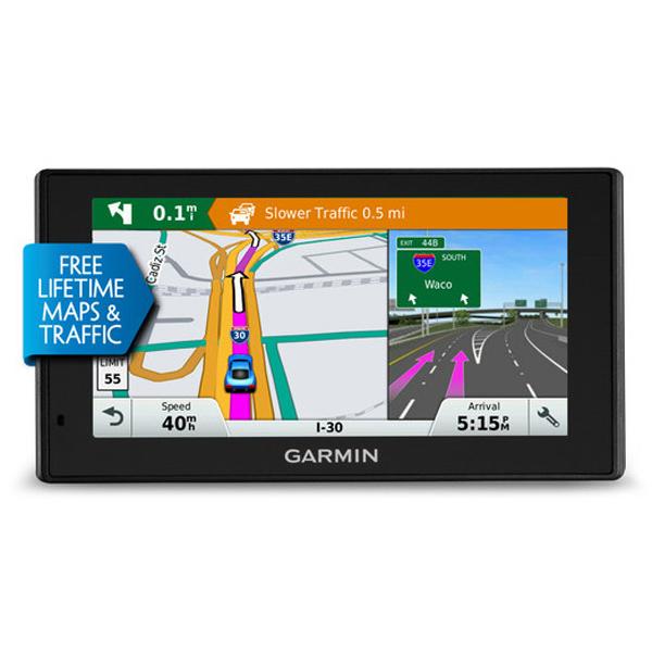 "GPS Garmin DriveSmart 70LMT GPS 45 pays d'Europe Ecran 7"""