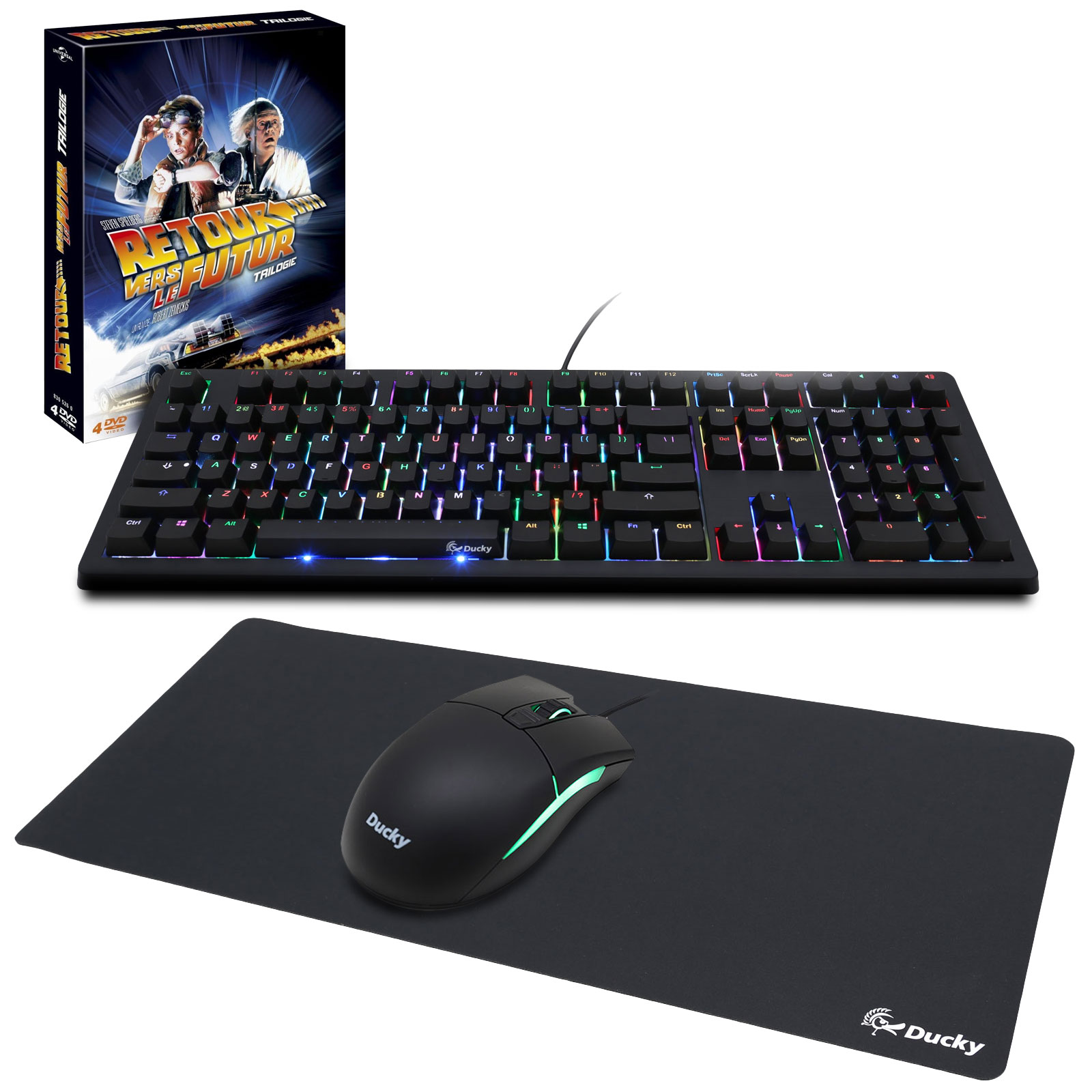 Ducky 2016 Gaming Combo (MX Blue) + coffret DVD OFFERT ...
