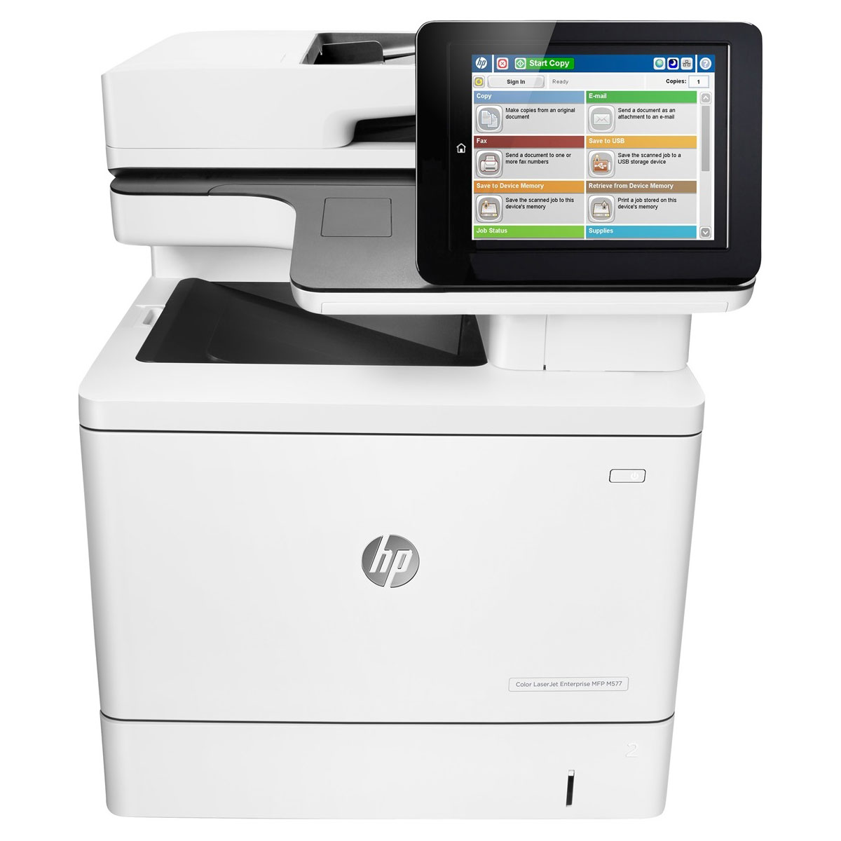 hp laserjet color enterprise mfp m577dn imprimante multifonction hp sur. Black Bedroom Furniture Sets. Home Design Ideas