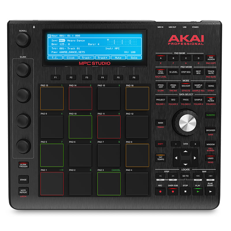 Akai pro mpc studio black table de mixage akai - Table de mixage professionnelle studio ...