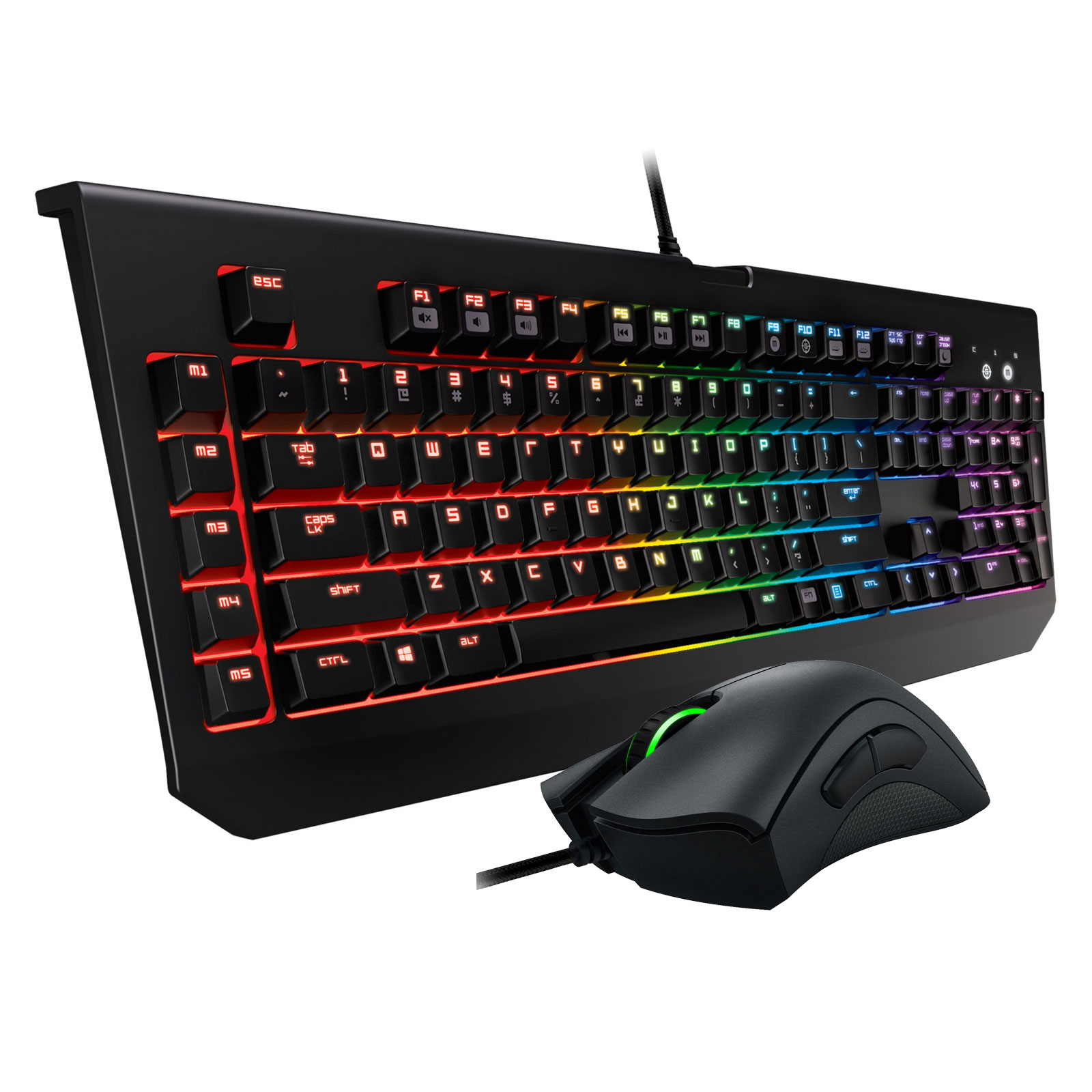 razer blackwidow chroma deathadder chroma pack clavier souris razer sur. Black Bedroom Furniture Sets. Home Design Ideas