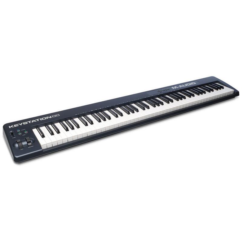 m audio keystation 88 mkii clavier home studio m audio sur. Black Bedroom Furniture Sets. Home Design Ideas