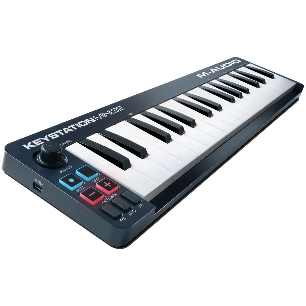 m audio keystation mini 32 mkii clavier home studio m. Black Bedroom Furniture Sets. Home Design Ideas