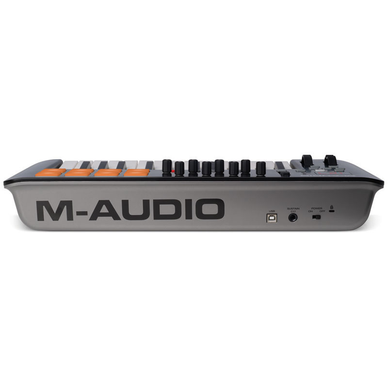 m audio oxygen 25 mkiv clavier home studio m audio sur. Black Bedroom Furniture Sets. Home Design Ideas
