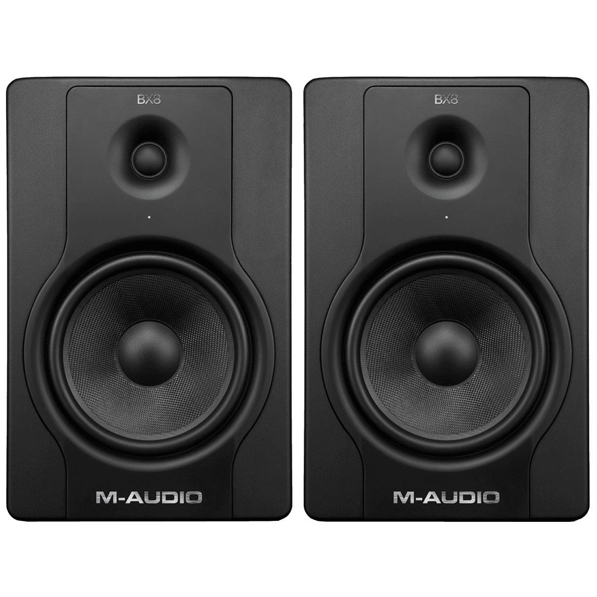 m audio bx8 d2 enceintes monitoring m audio sur. Black Bedroom Furniture Sets. Home Design Ideas