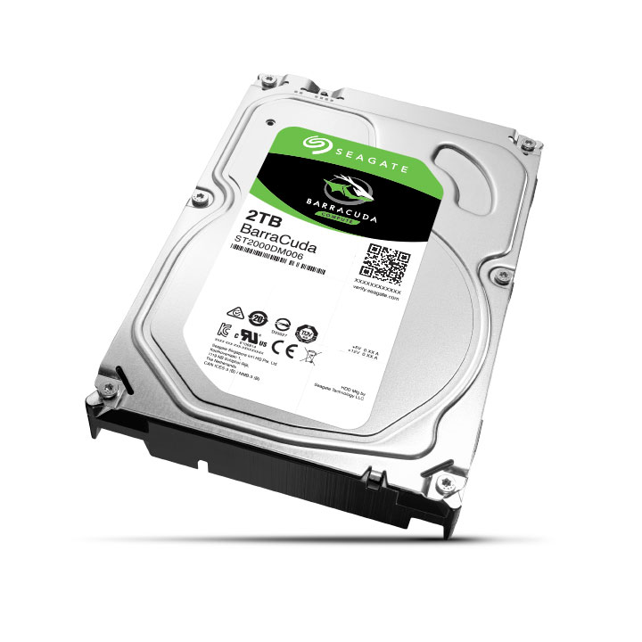 "Disque dur interne Seagate BarraCuda 2 To (ST2000DM006) Disque dur 3.5"" 2 To 7200 RPM 64 Mo Serial ATA 6 Gb/s (bulk)"