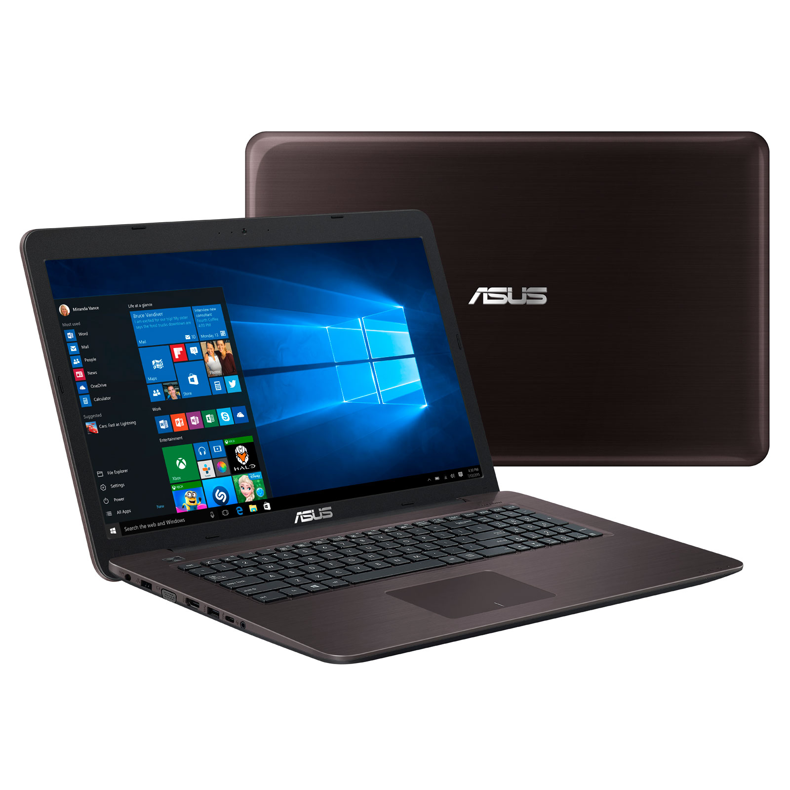 asus x756ua ty337t pc portable asus sur. Black Bedroom Furniture Sets. Home Design Ideas