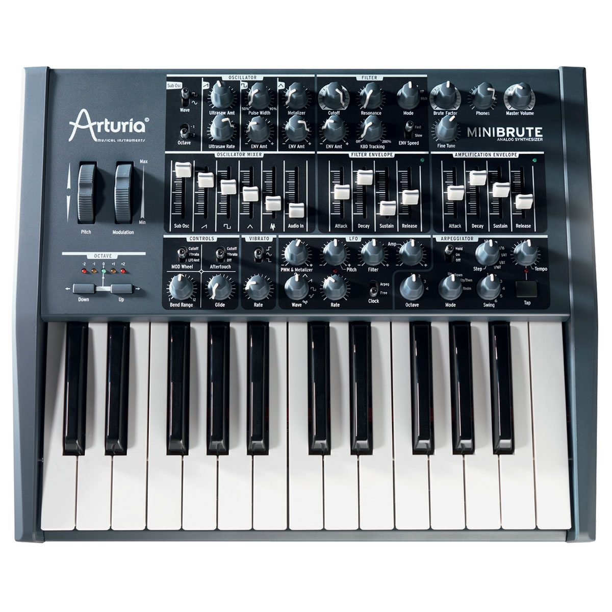 arturia minibrute clavier home studio arturia sur. Black Bedroom Furniture Sets. Home Design Ideas