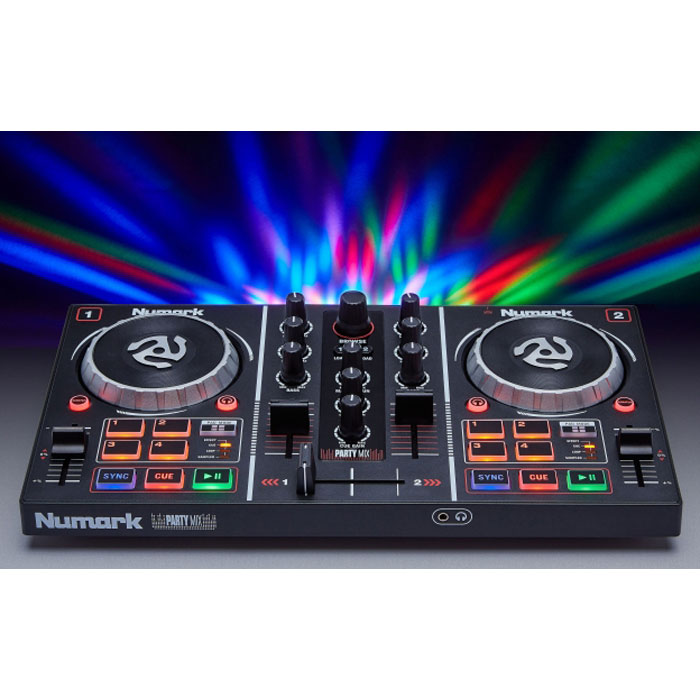 Numark Party Mix Table De Mixage Numark Sur Ldlc Com