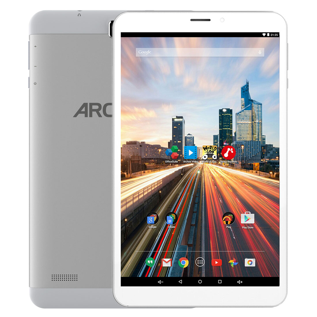 "Tablette tactile Archos 80b Helium 16 Go Tablette Internet 4G - Android 5.1 - 16 Go - 8"" IPS (1280 x 800) Wi-Fi/Bluetooth"