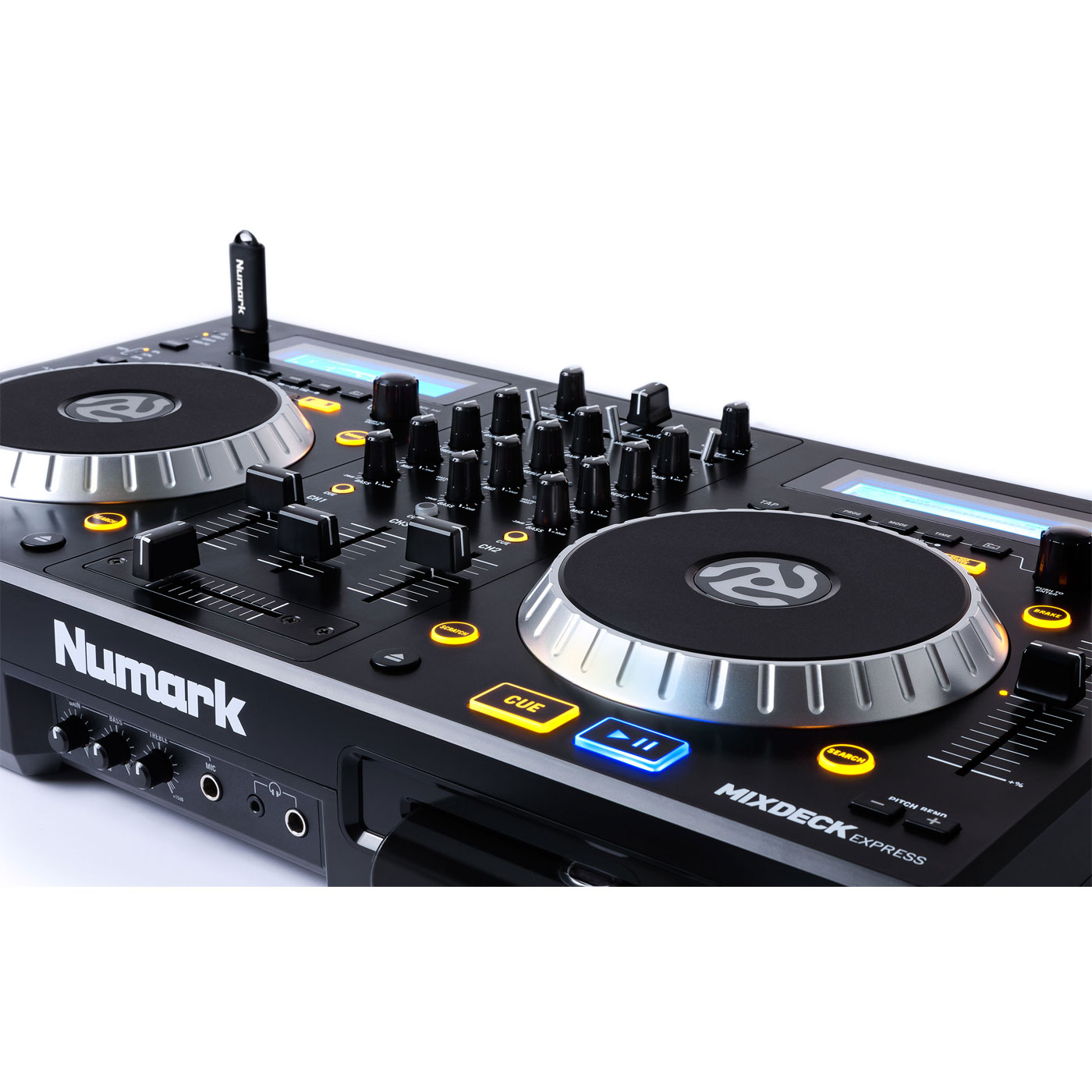 numark mixdeck express table de mixage numark sur. Black Bedroom Furniture Sets. Home Design Ideas