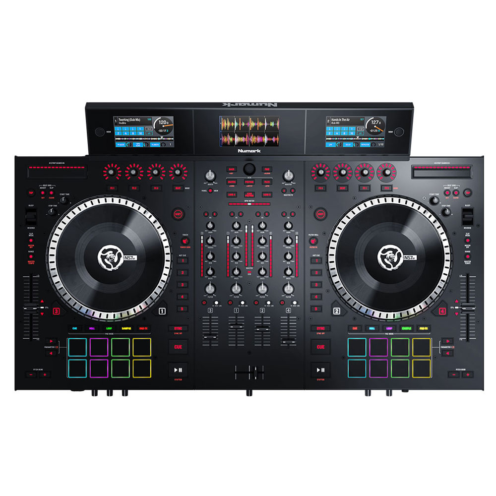 numark ns7iii table de mixage numark sur. Black Bedroom Furniture Sets. Home Design Ideas