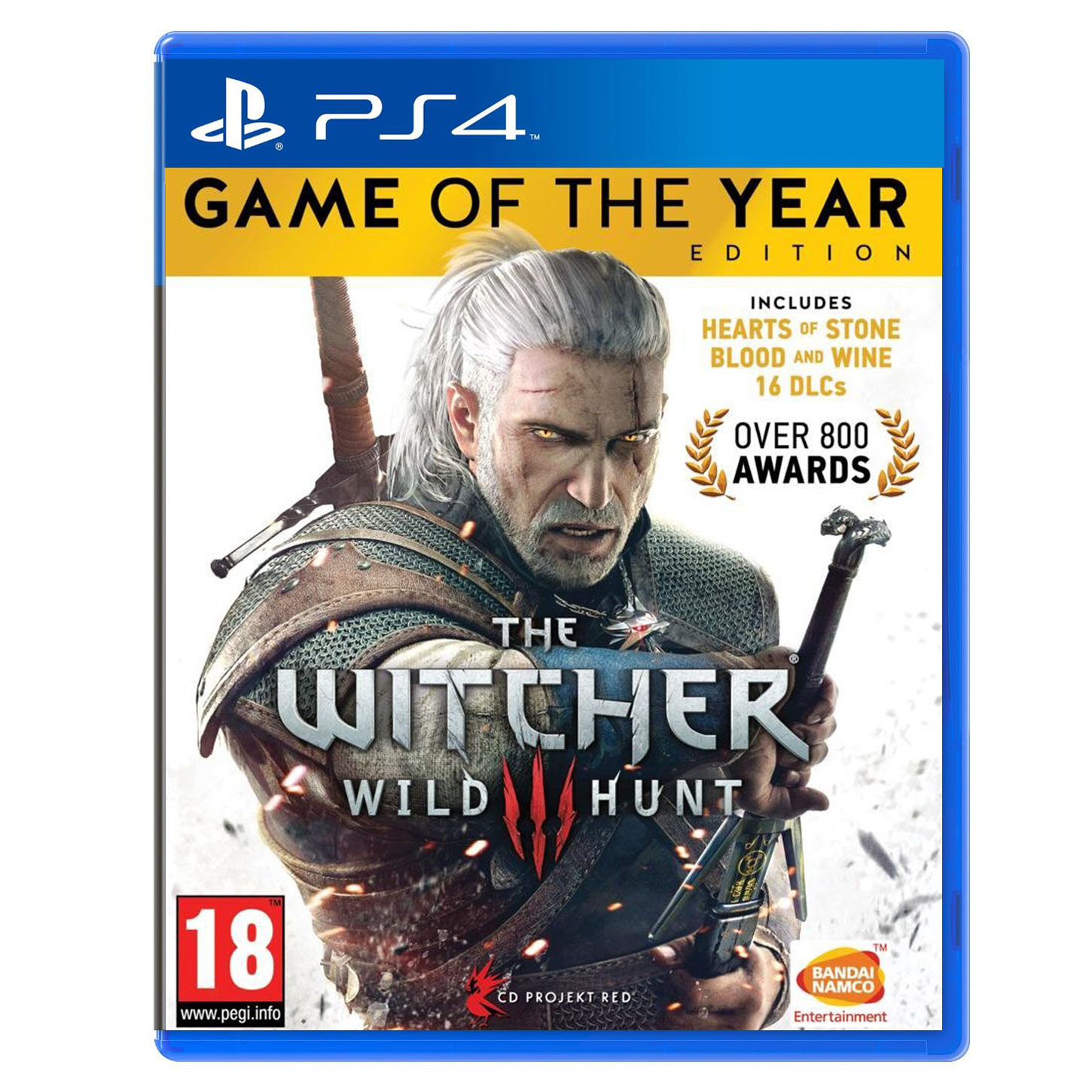 Jeux PS4 The Witcher III : Wild Hunt - Game Of The Year Edition (PS4) The Witcher III : Wild Hunt - Game Of The Year Edition (PS4)
