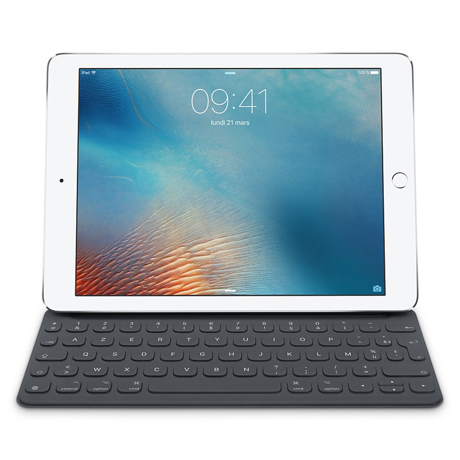apple smart keyboard pour ipad pro 12 9 fr. Black Bedroom Furniture Sets. Home Design Ideas