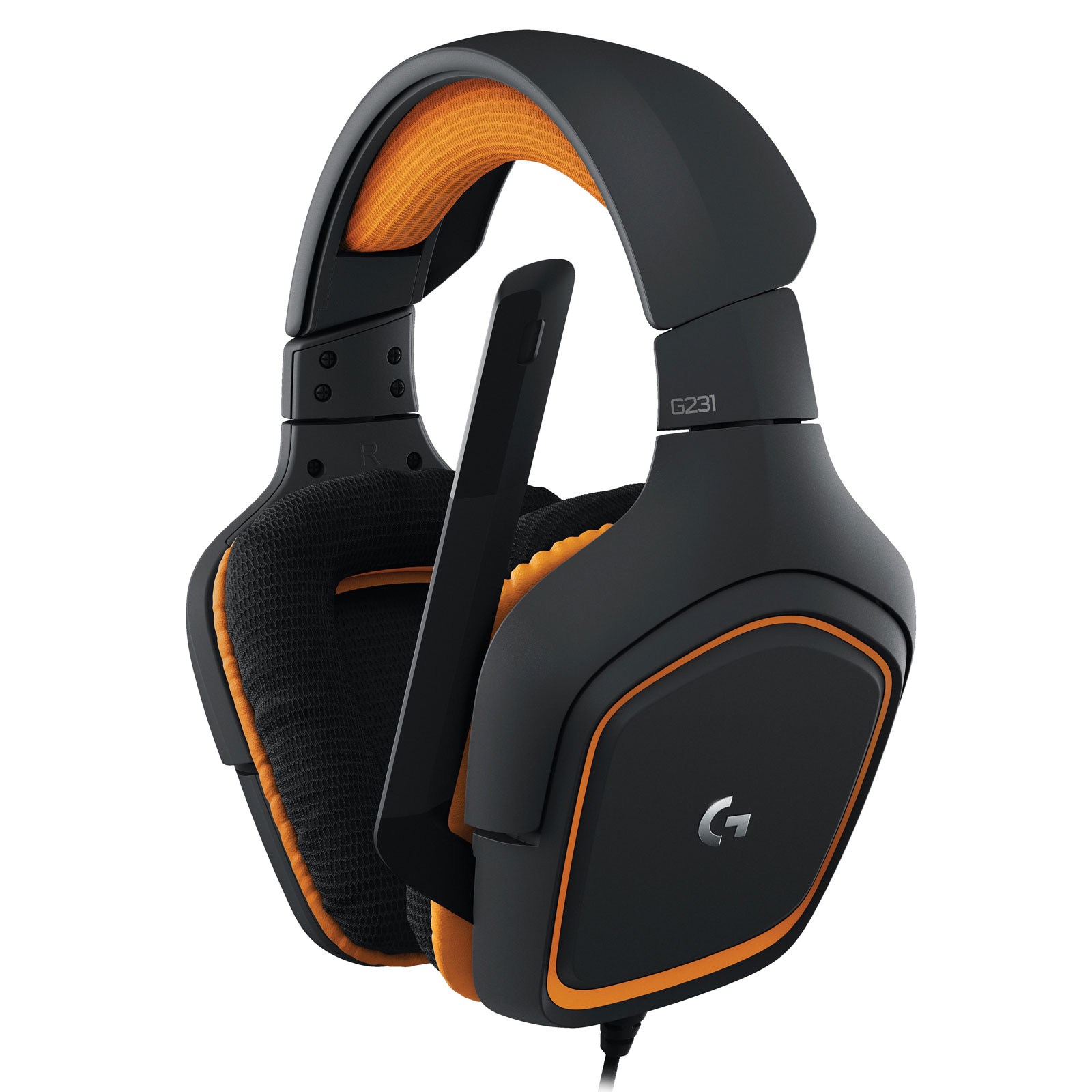 Micro-casque Logitech G231 Prodigy Gaming Headset Casque-micro circum-aural fermé pour gamer (compatible PC, PlayStation 4 et Xbox One)