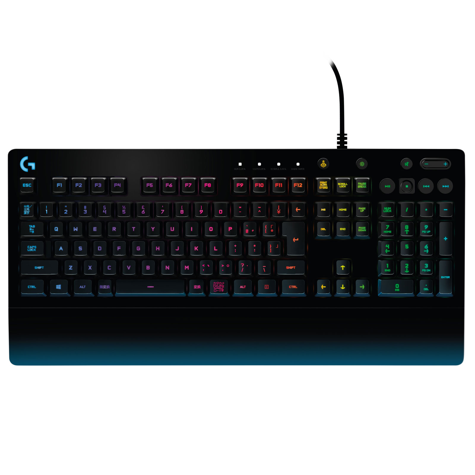 logitech g213 prodigy gaming keyboard clavier pc logitech sur. Black Bedroom Furniture Sets. Home Design Ideas