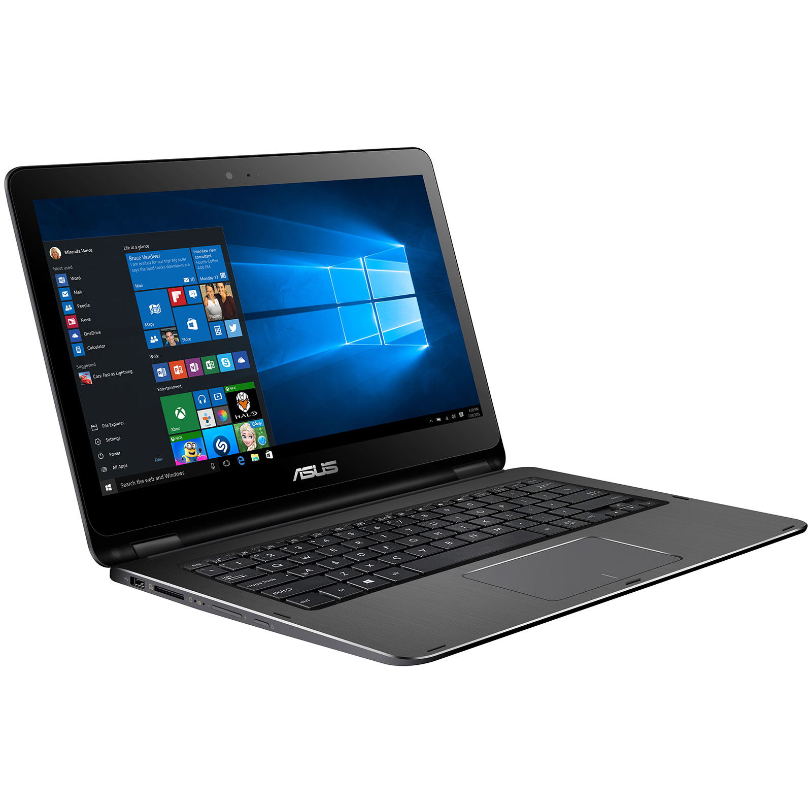 asus vivobook flip tp301ua dw126r pc portable asus sur. Black Bedroom Furniture Sets. Home Design Ideas